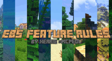 EBS Feature Rules   Minecraft PE Addons