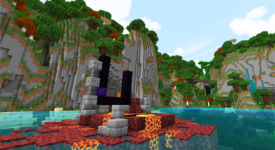 Amplified Biomes Minecraft Addon