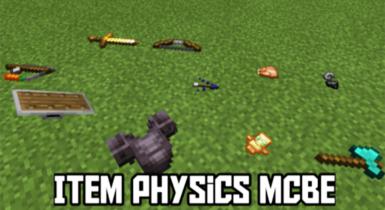 Item Physics Addon for Minecraft V1.1
