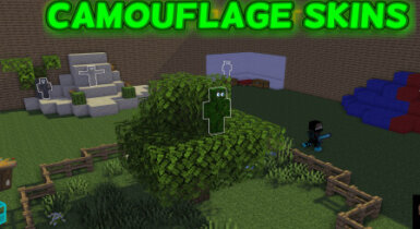 Camouflage Skins 2.2 for MCPE