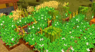 Better Foliage Addon/Texture Pack for Minecraft PE