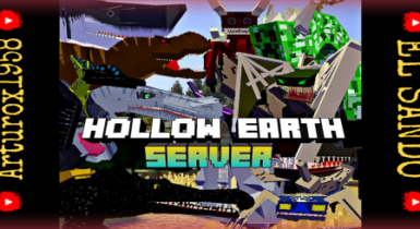 Minecraft Hollow Earth Addon (+20 mobs) | MCPE Addons