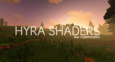 Hyra Shaders v4 Minecraft PE