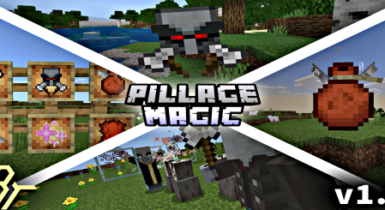 Pillage and Magic v1.0   Add on for MCPE